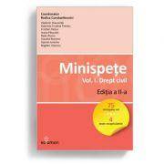 Minispete. Vol. I. Drept civil. Ed. a II-a - Rodica Constantinovici imagine librariadelfin.ro