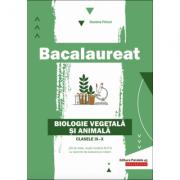 Bacalaureat 2020. Biologie vegetala si animala pentru clasele 9-10 - Daniela Firicel imagine librariadelfin.ro
