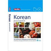 Berlitz Korean Phrase Book & CD