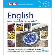 Berlitz Language: English Phrase Book & CD (Berlitz Phrase Book & CD)