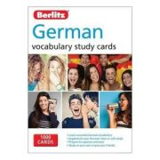 Berlitz Language: German Vocabulary Study Cards