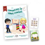 "Comunicare în limba romana, clasa I + carte cadou ""Invatam altfel"" + caiet tip I oferit gratuit imagine librariadelfin.ro"