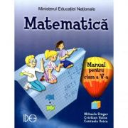 Matematica. Manual pentru clasa a V-a (IDEE) - Mihaela Singer imagine librariadelfin.ro