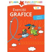 Exercitii grafice, litere si numere. Colectia Steaua cunoasterii (Rosu) - Birgit Fuchs