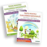 Set Teste de matematica si limba romana pentru Evaluarea Nationala de clasa a 2-a - Mirela Mihaescu imagine librariadelfin.ro