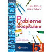 Probleme de recapitulare. Matematica. Clasa a V-a - Artur Balauca, Catalin Budeanu imagine librariadelfin.ro