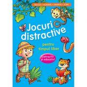 Jocuri distractive pentru timpul liber - Distractiv si educativ. Invata, numara, observa, scrie (Albastru)