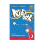 Kid's Box Level 2 Class (editie 2019), contine 4 CD - Caroline Nixon imagine librariadelfin.ro