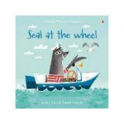 Seal at the Wheel - Lesley Sims