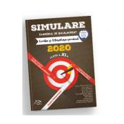 Simulare Bacalaureat 2020 - Limba și literatura romana, clasa a XI-a - Toate profilurile - Ed. Delfin imagine librariadelfin.ro