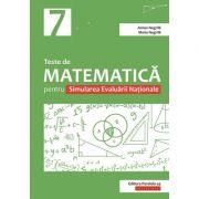 Teste de matematica pentru Simularea Evaluarii Nationale la clasa a VII-a - Anton Negrila, Maria Negrila imagine librariadelfin.ro