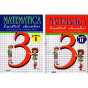 Matematica clasa a III-a - Set caiete semestrele I + II - Stefan Pacearca imagine librariadelfin.ro