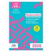 Matematica - 30 + 5 modele de teste - in vederea pregatirii examenului de Evaluare Nationala 2020 - clasa a VII-a imagine librariadelfin.ro