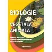 Biologie vegetala si animala. Ghid de practica intensiva pentru examenul de bacalaureat - Claudia Lizica Groza imagine librariadelfin.ro