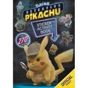 Detective Pikachu Sticker Activity Book