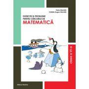 Exercitii si probleme pentru cercurile de matematica clasa a VI-a - Petre Nachila, Catalin Eugen Nachila imagine librariadelfin.ro