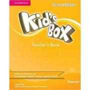 Kid's Box Starter Teacher's Book - Lucy Frino, Caroline Nixon, Michael Tomlinson