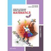 Matematica clasa a VIII-a. Exercitii si probleme pentru cercurile de matematica - Petre Nachila imagine librariadelfin.ro