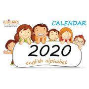 Calendar 2020. English alphabet imagine librariadelfin.ro