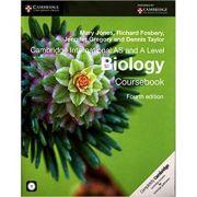 Cambridge International AS and A Level Biology Coursebook with CD-ROM - Mary Jones, Richard Fosbery, Jennifer Gregory, Dennis Taylor