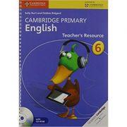 Cambridge Primary English Stage 6 Teacher's Resource Book with CD-ROM - Sally Burt, Debbie Ridgard