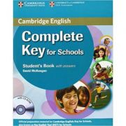 Complete Key for Schools Student's Pack with Answers (Student's Book with CD-ROM, Workbook with Audio CD) - David McKeegan, Sue Elliot, Emma Heyderman