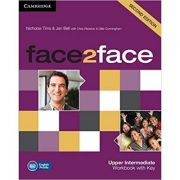 face2face Upper Intermediate Workbook with Key - Nicholas Tims, Jan Bell, Chris Redston, Gillie Cunningham