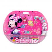 Mega set de colorat 5 in 1 Minnie (MIE1907) imagine librariadelfin.ro