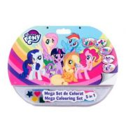 Mega set de colorat 5 in 1 My Little Pony (MPO1907) imagine librariadelfin.ro
