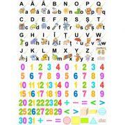 Set planse litere si cifre. Clasa pregatitoare imagine librariadelfin.ro