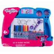 Vampirina Set de colorat portabil imagine librariadelfin.ro