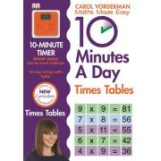10 Minutes A Day Times Table - Carol Vorderman