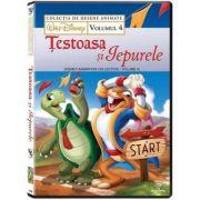Testoasa si Iepurele volumul 4. Colectia Disney DVD imagine librariadelfin.ro