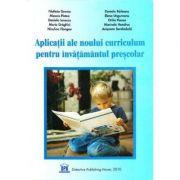 Aplicatii ale noului curriculum pentru invatamantul prescolar, nivelul 1 (3-5 ani) - Filofteia Grama imagine librariadelfin.ro