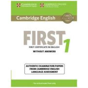 Cambridge English First 1 for Revised Exam from 2015 Student's Book without Answers: Authentic Examination Papers from Cambridge English Language Asse