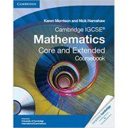 Cambridge IGCSE Mathematics Core and Extended Coursebook with CD-ROM - Karen Morrison, Nick Hamshaw
