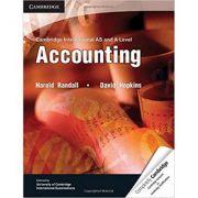 Cambridge International AS and A Level Accounting Textbook - Harold Randall, David Hopkins