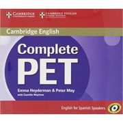 Complete PET for Spanish Speakers Class Audio CDs (4) - Emma Heyderman, Peter May, Camilla Mayhew