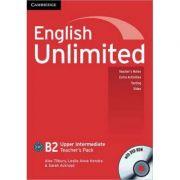 English Unlimited Upper Intermediate Teacher's Pack (Teacher's Book with DVD-ROM) - Alex Tilbury, Leslie Anne Hendra, Sarah Ackroyd