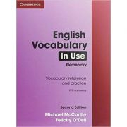 English Vocabulary in Use Elementary with Answers - Michael McCarthy, Felicity O'Dell