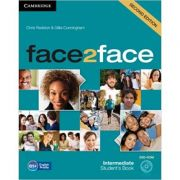 face2face Intermediate Student's Book with DVD-ROM - Chris Redston, Gillie Cunningham