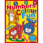 Numbers Colour Fun Book 1. Learn as you Colour