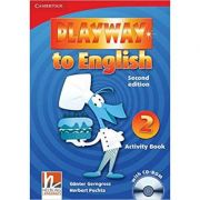 Playway to English Level 2 Activity Book with CD-ROM - Gunter Gerngross, Herbert Puchta