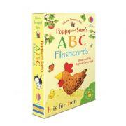 Poppy and Sam's ABC flashcards - Heather Amery