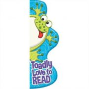 Toadly Love to READ Shaped Bookmarks imagine librariadelfin.ro