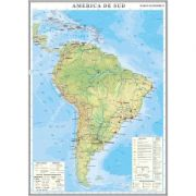 America de Sud. Harta economica 1000x1400 mm (GHC13E)