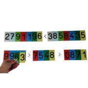 Cifre - Carduri magnetice pentru activitati matematice (MC70W) imagine librariadelfin.ro