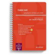 Codul civil (actualizat la 10 februarie 2020) - Claudiu Dragusin