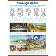 Plansa dubla - Compozitia plastica/ Cercul lui Itten (AP2) imagine librariadelfin.ro
