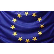 Drapel Uniunea Europeana (2100x1400mm/110) - poliester cu microperforatii imagine librariadelfin.ro